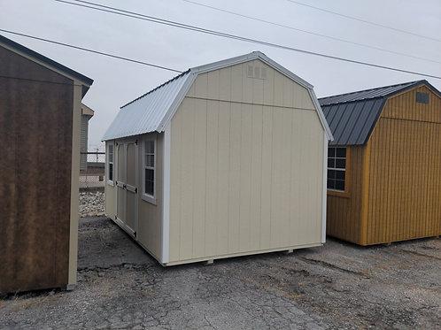 10 x 16 Lofted Barn with 2x3 windoes