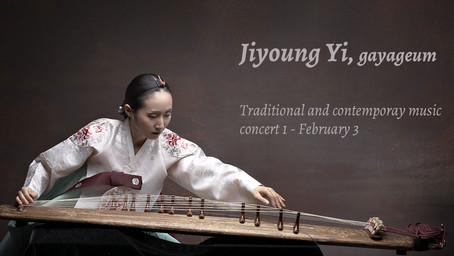 Jiyoung Yi, gayageum
