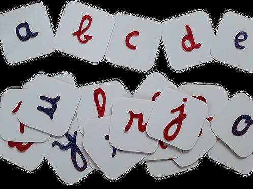 Kit DIY Montessori-Les lettres rugueuses
