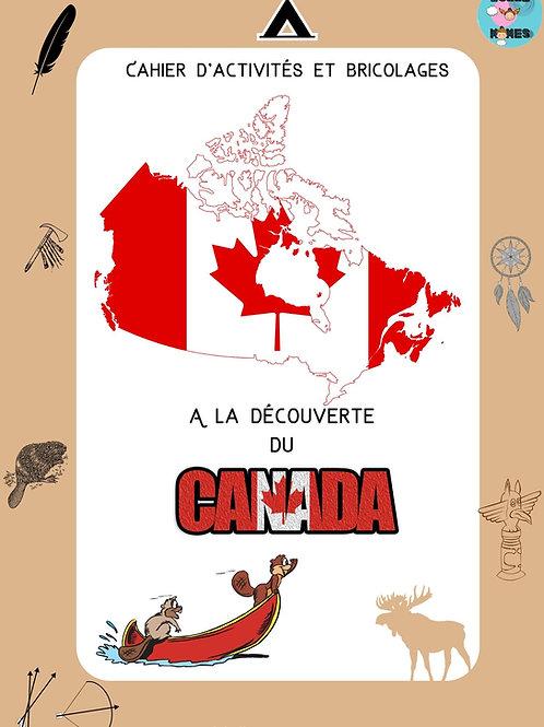 Cahier d'activités-Canada-A partir de 4 ans