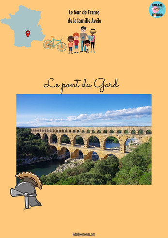 Direction le Pont du Gard