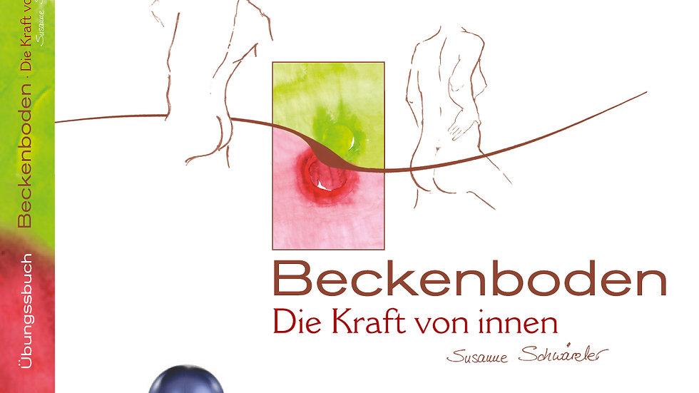Übungsbuch mit Plakat