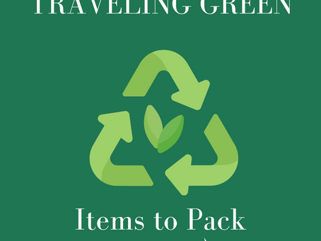 Traveling Green : Swaps to Promote Sustainability