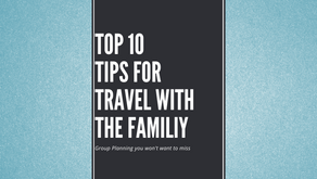 Ten Tips for Traveling with the Family