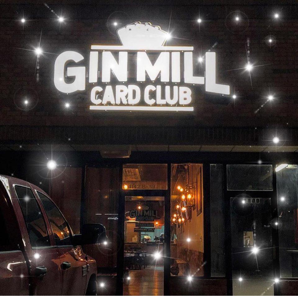 Gin Mill Card Club, Lubbock, TX