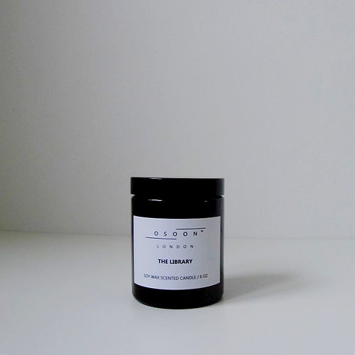The Library Soy Wax Candle [6oz]