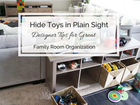 Hide Toys In Plain Sight | Toy Storage Solutions