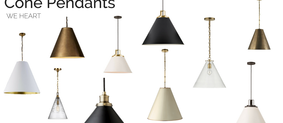 Crazy about Lighting: Cone Pendants Edition