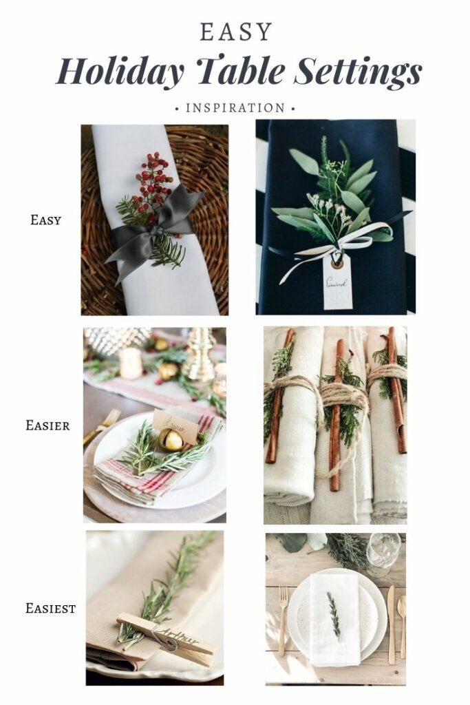 Table Setting Inspiration Gathered by EH Design