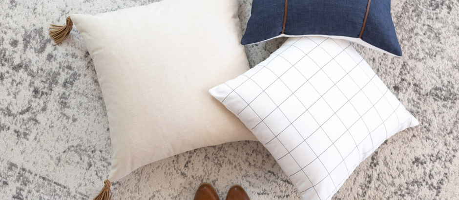 Pillow Collection by EH Design (through Laurel+Blush)