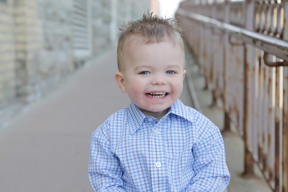 Erin Haugerud's Son Preston Neil Spring of 2017
