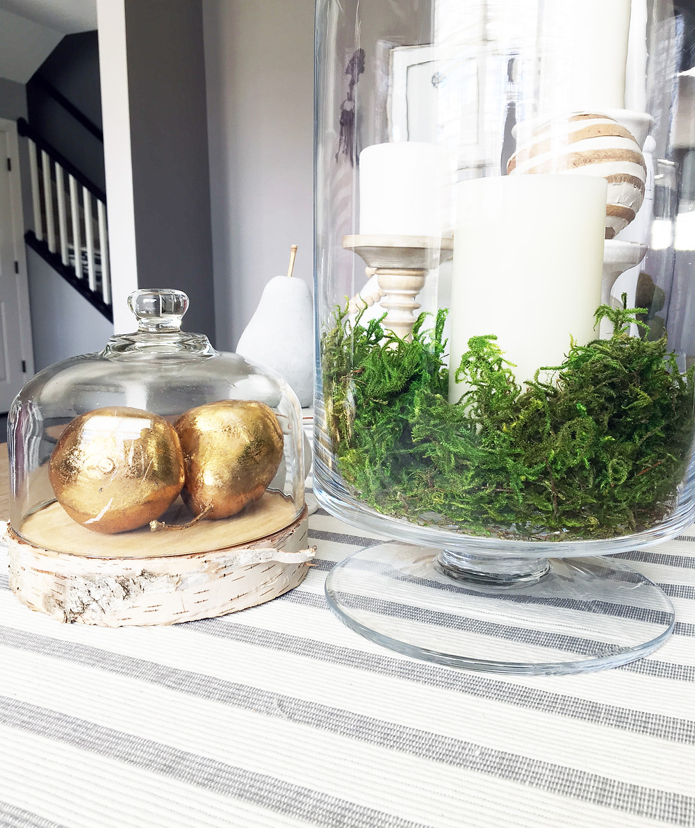 EH Design Blog - The Many Faces of Moss - Moss in Glass Candle Jars