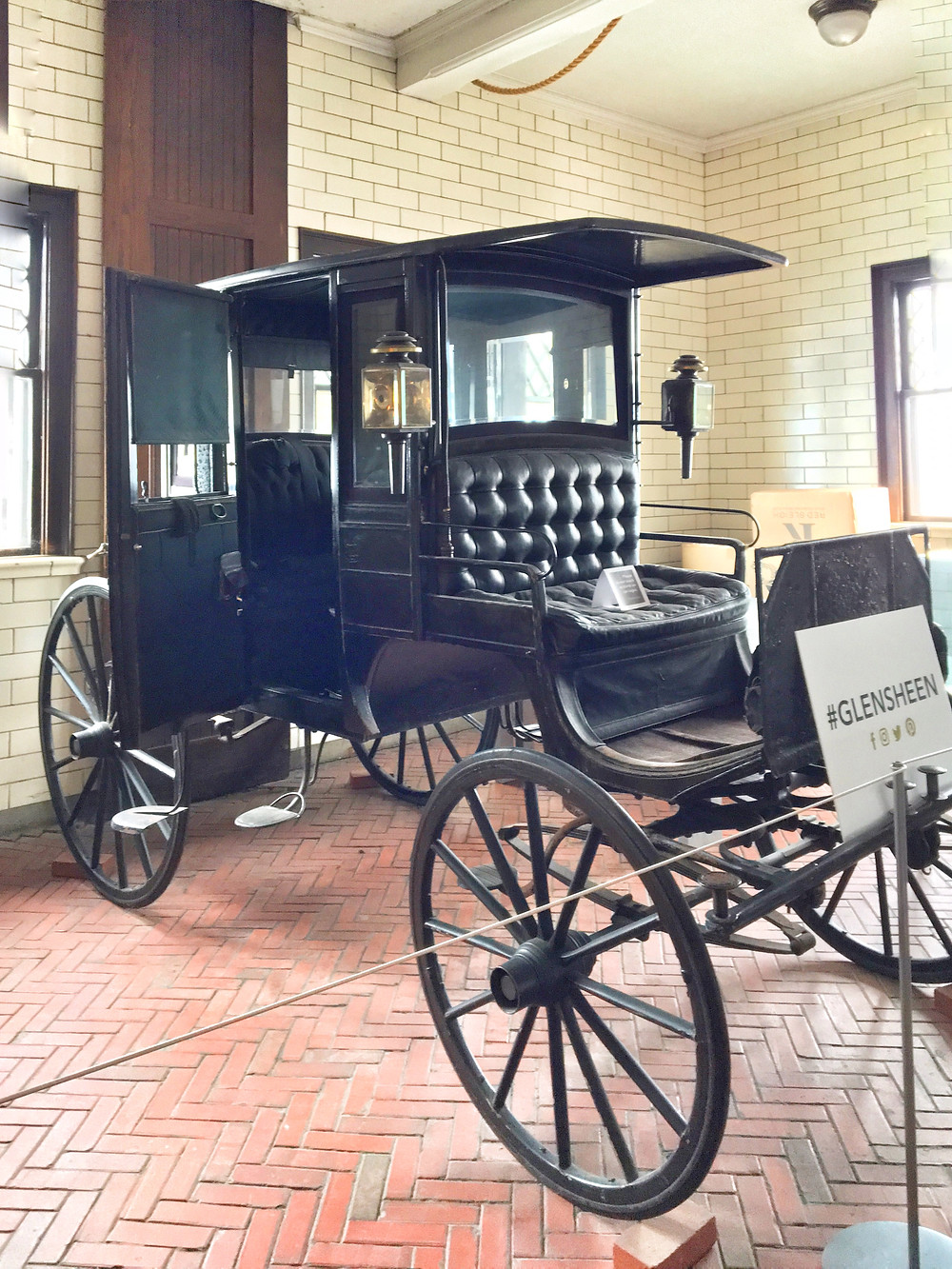EH Design Blog - Carriage House of Tack Room showing the tack for the horses