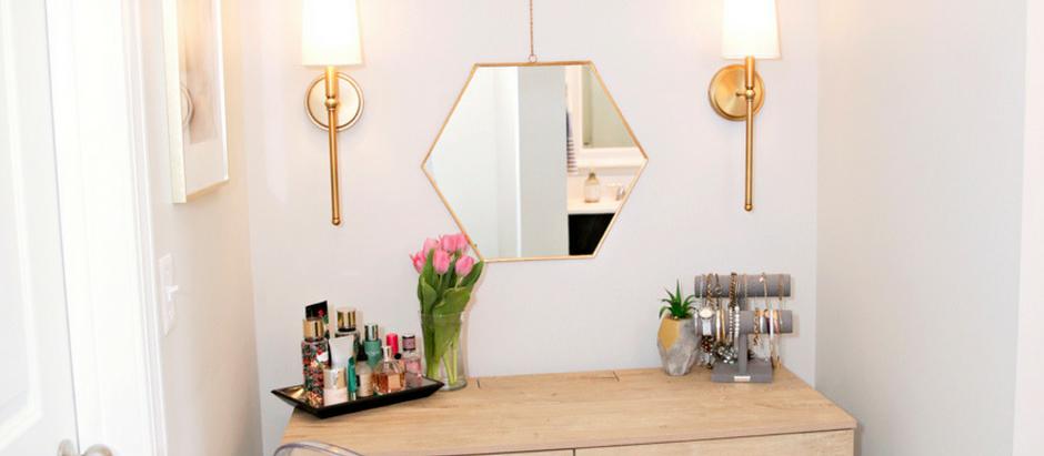 Aspen Project: Makeup Vanity and Master Bath Update