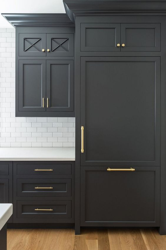 Cabinet Color Benjamin Moore Cheating Heart - Design by Studio McGee