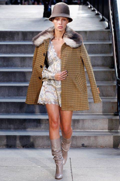 Neutral Plaids Fashion Trends 2017