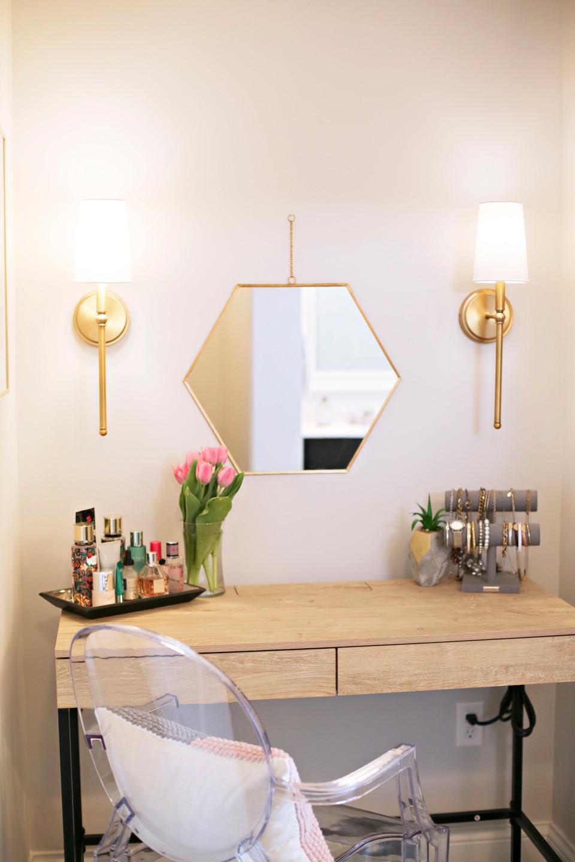 Aspen Drive: Makeup Vanity and Master Bathroom Reveal | EH Design
