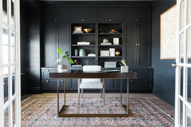 Cabinet Paint Color Benjamin Moore Soot - Design by Studio McGee