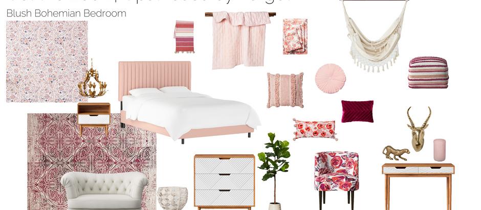Blush Bohemian Bedroom Design | Opalhouse by Target