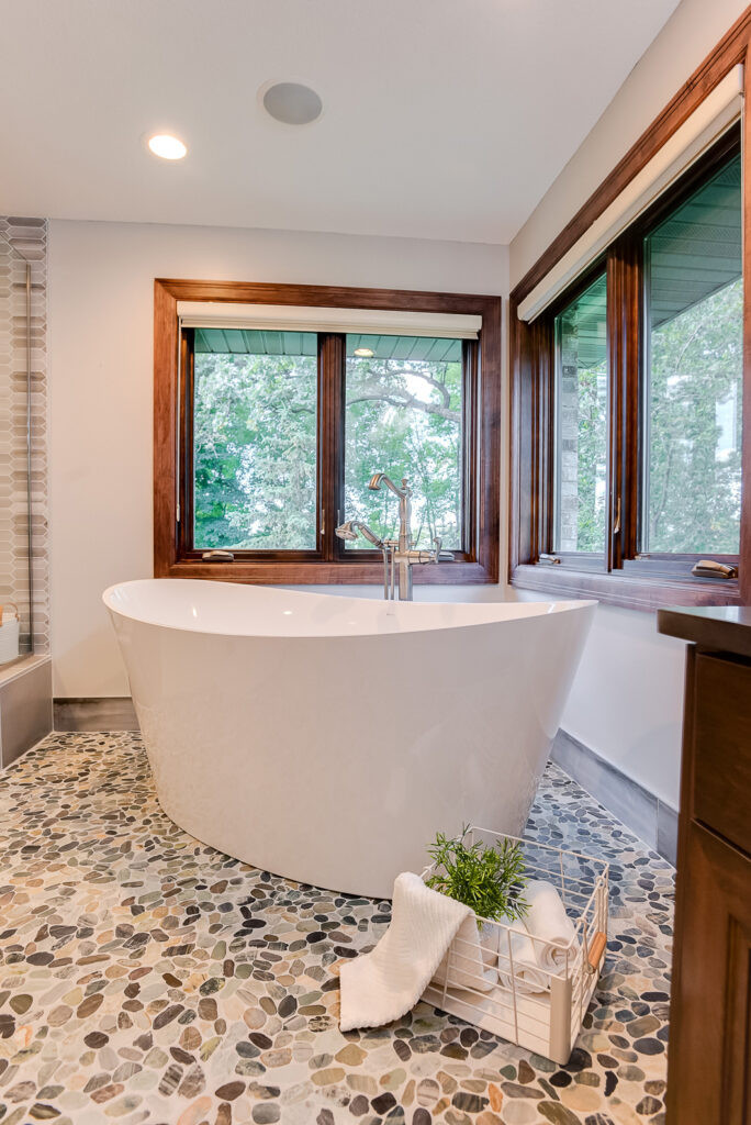 Master Bathroom Tub platform