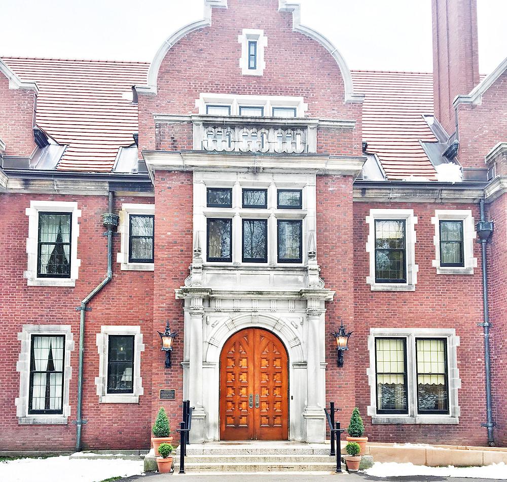 EH Design Blog - Glensheen Mansion - Exterior of Front Door