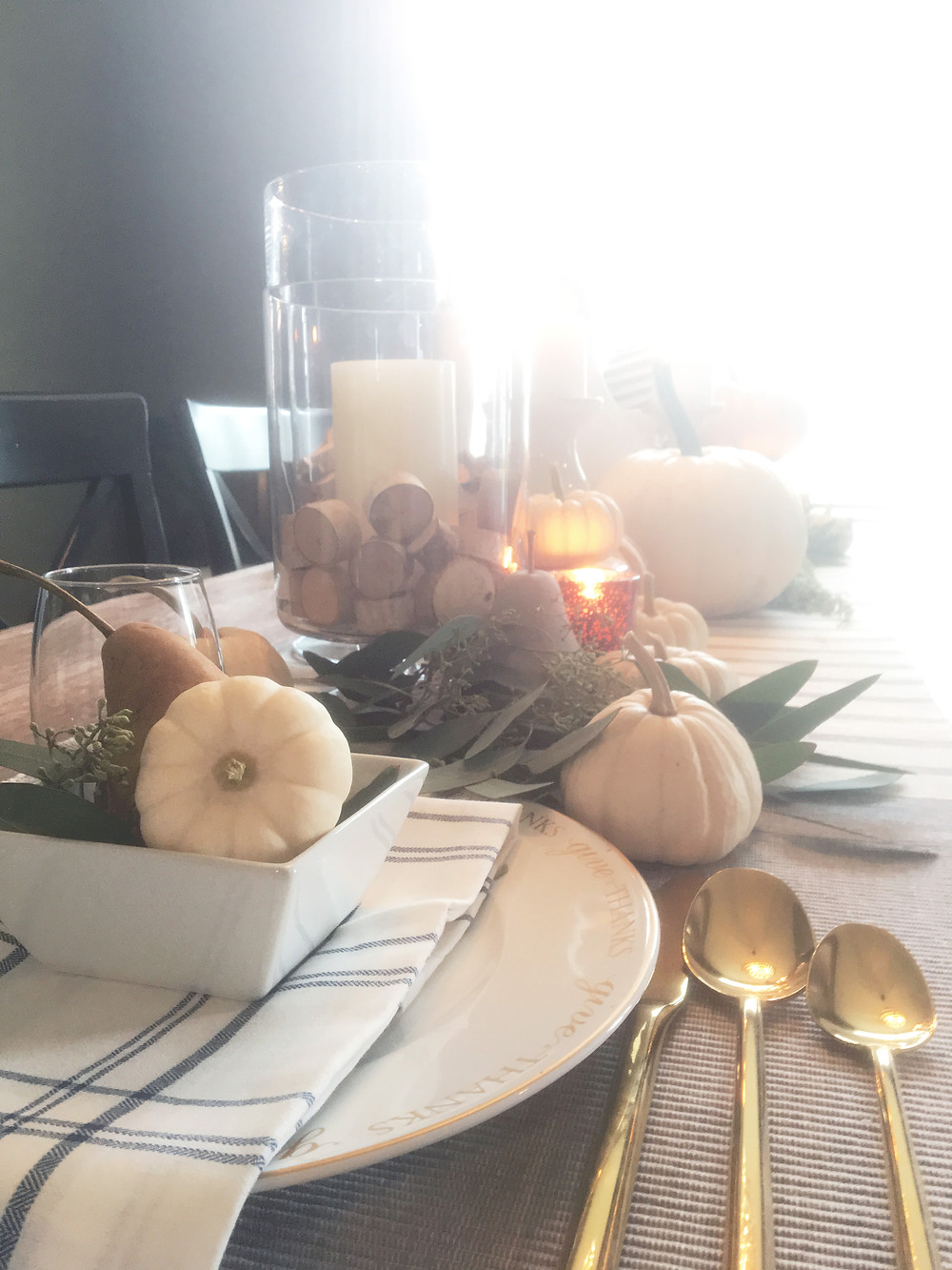 Fall Decor - EH Design Blog - Dining Room - Tablescape
