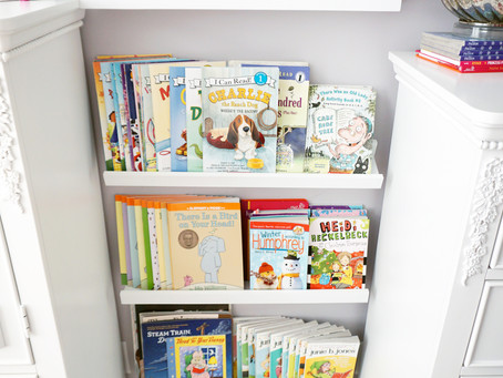 Bookshelf Solution for Little Kiddos Room  | EH Design
