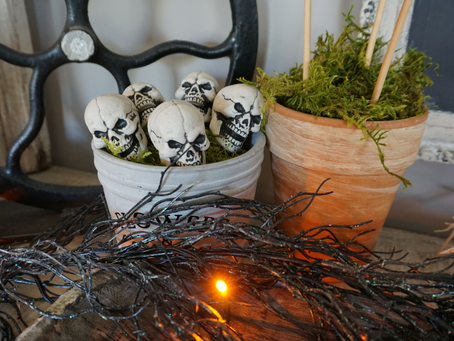 3 Steps to Creepy (non-cheezy) Halloween Decor
