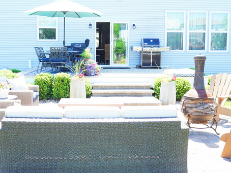 Outdoor Space Inspiration and Patio Furniture Round Up