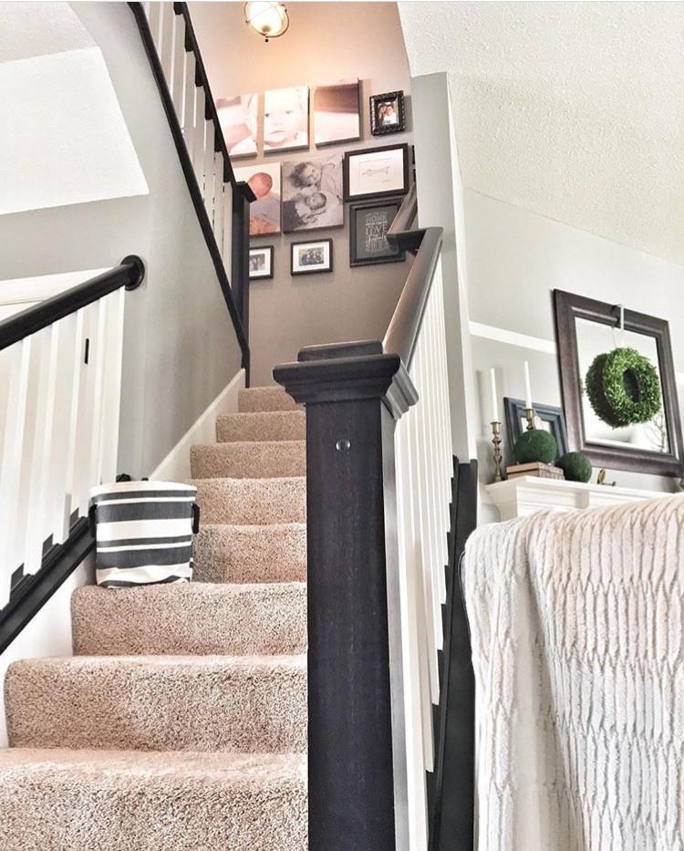 EH Design Blog - Stairway Gallery Wall