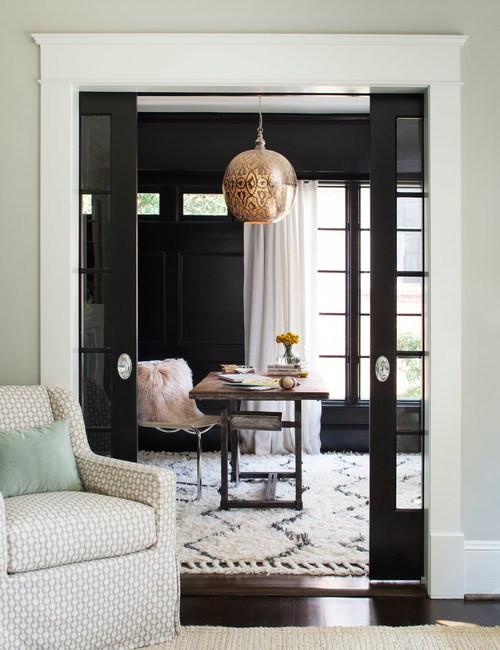Wall Color Sherwin Williams Tricorn Black - Design - Terracota Design Build