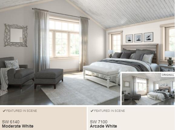 10 SW Arcade White- Color Visualizer
