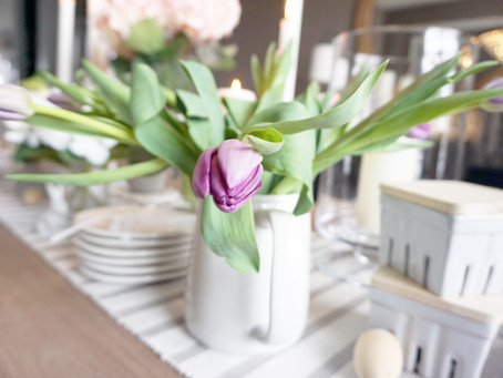 Table Setting Design Tips for Spring | Easter Table Setting