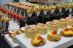 buffet-presentation-canapes-launch-party