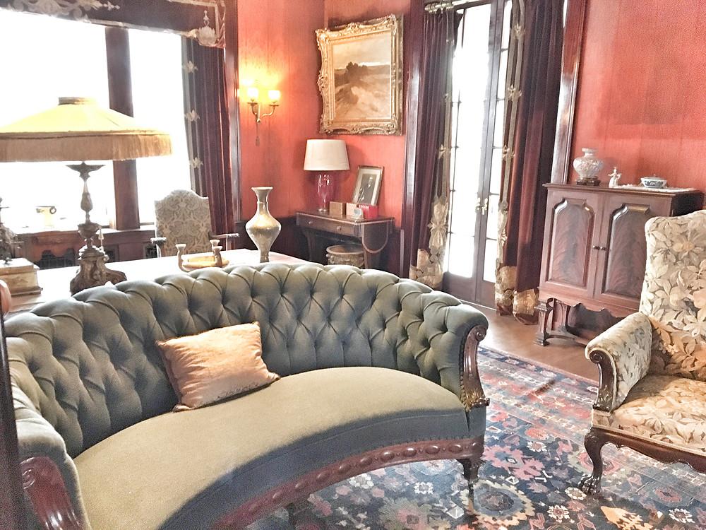 EH Design Blog - Glensheen Mansion -Family Room