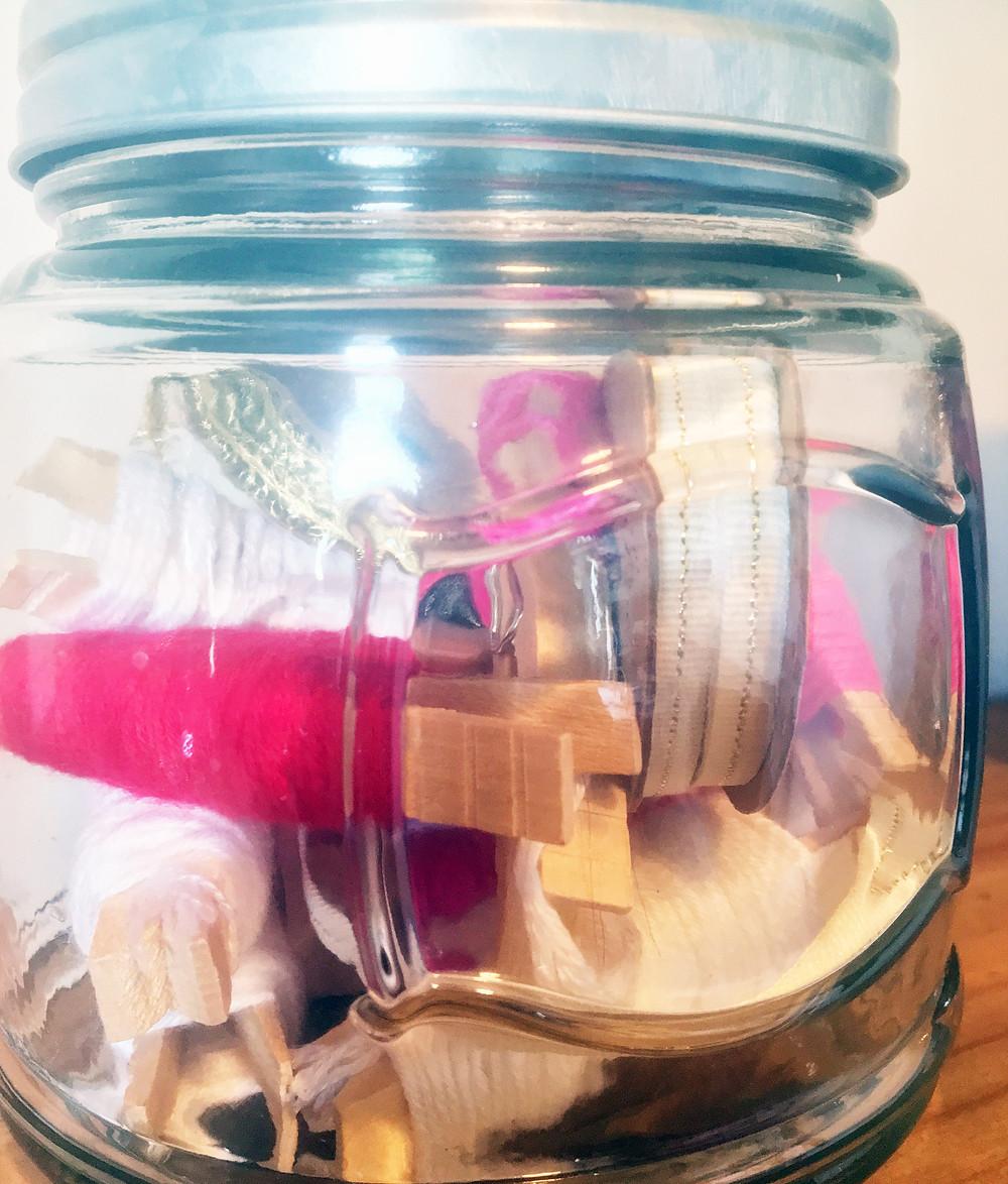 Tiny Art Room - EH Design Blog - Close Up of String