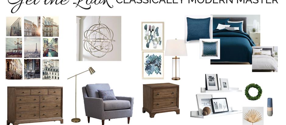Get the Look: Modern Master Bedroom