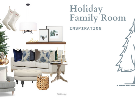 Holiday Family Room Design Inspo