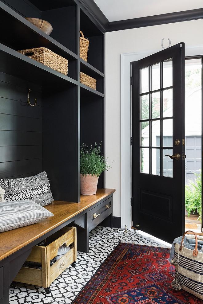Cabinet Color Benjamin Moore Onyx - Design - Realm Interiors