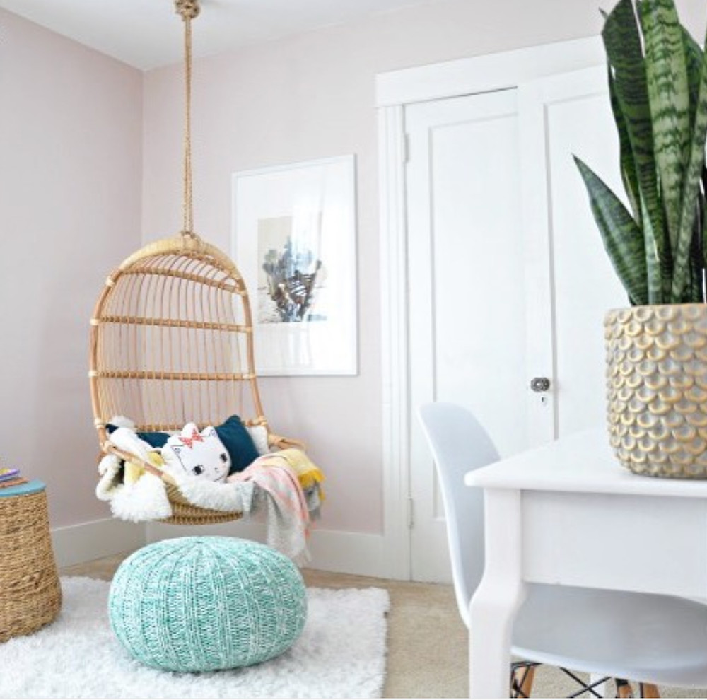 Houseupdated Bedroom with Blush White Paints