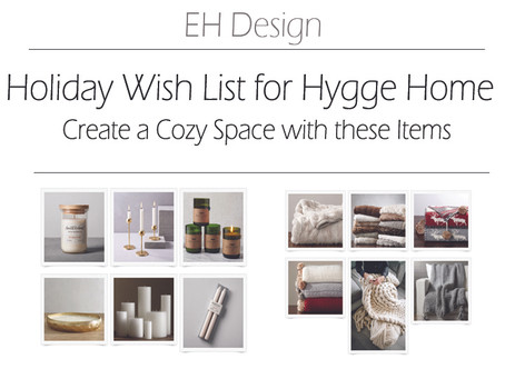 Holiday Wish List for a Cozy Hygge Home | EH Design