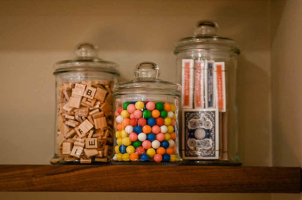Gumballs and Games in Lower Level