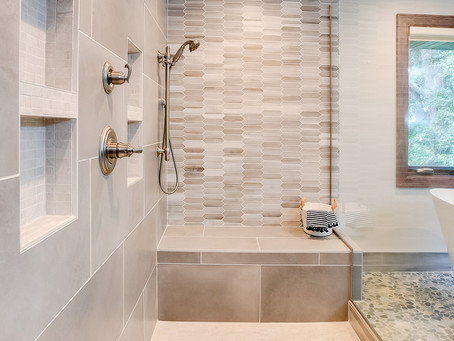 Master Bathroom Project Reveal: Norwood Clients