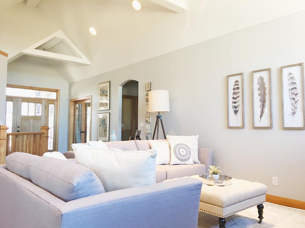 Osseo Main Living Space - Interior Design - EH Design