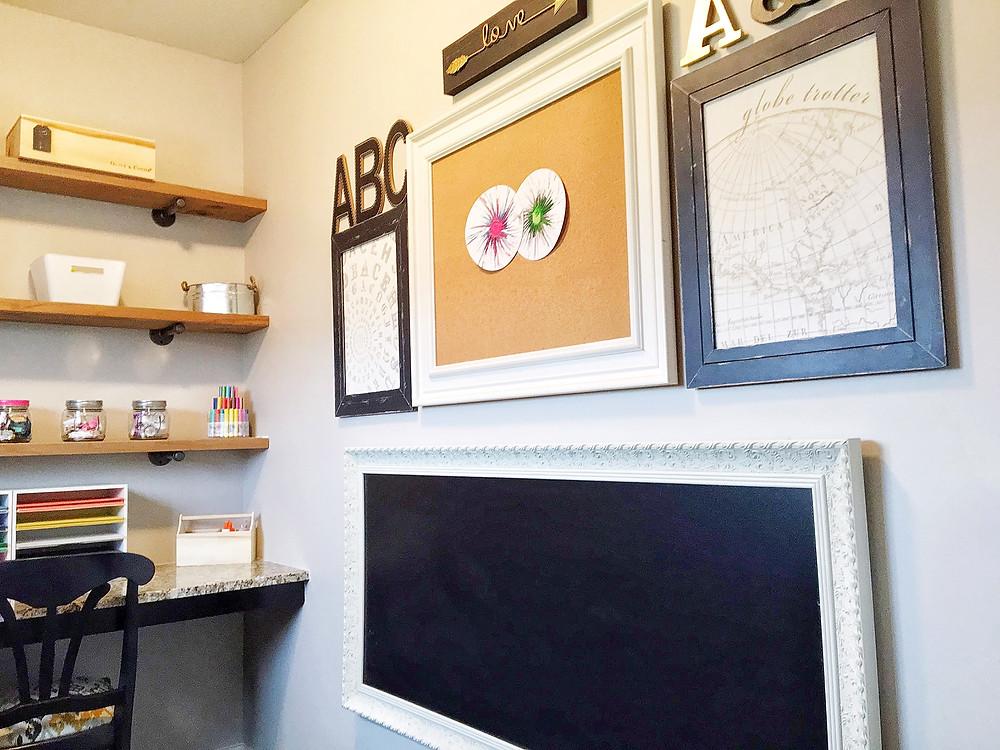 Tiny - Art Room - EH Design Blog - Chalkboard