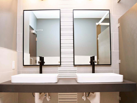 Sarazin Project: Commercial Project Reveal | Restroom Edition