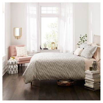 Target - Bedroom with Blush White Paint