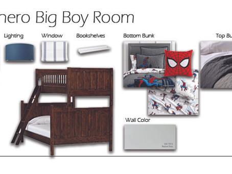 Superhero Bedroom Design and Inspiration