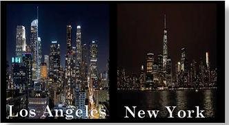 Locations City Skyline Los Angeles- New