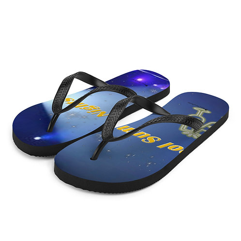 Cool Summer Nights Flip-Flops
